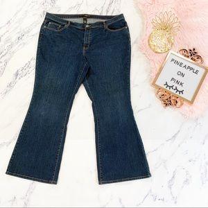 Venezia Dark Wash Bootcut Jeans 22